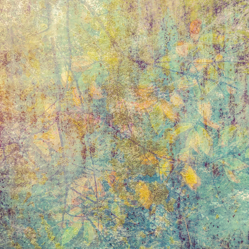 Autumnal tapestry, multiple exposure