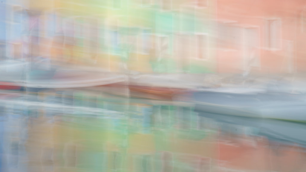Canal colours, ICM, Burano
