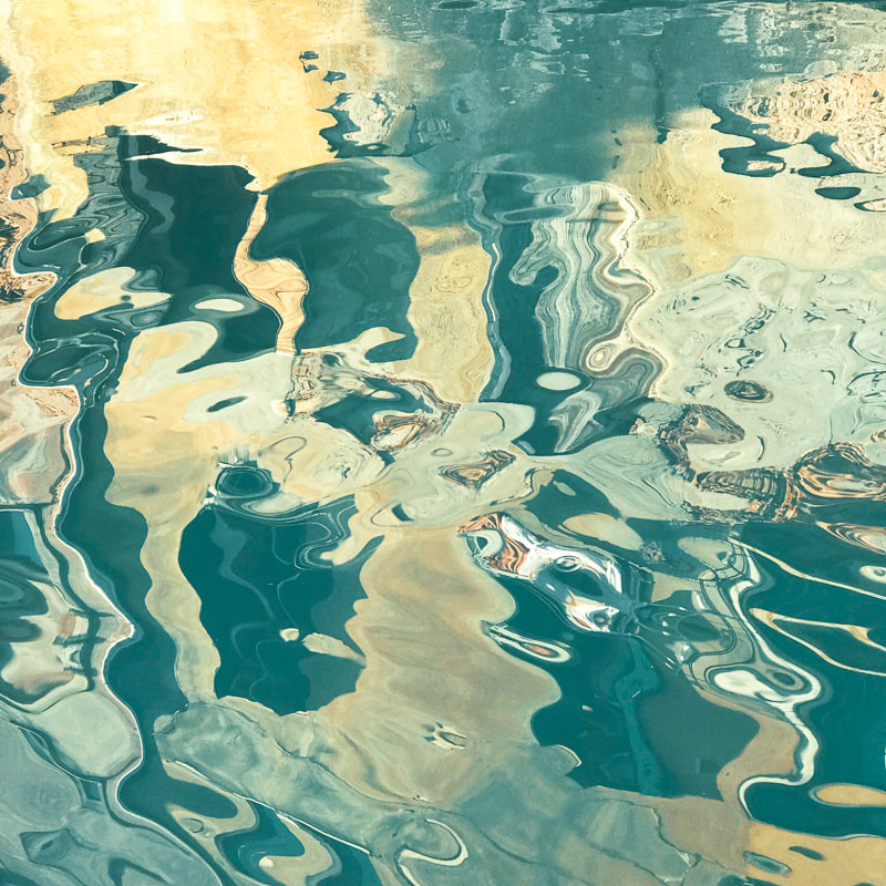 Abstract reflection, Venice