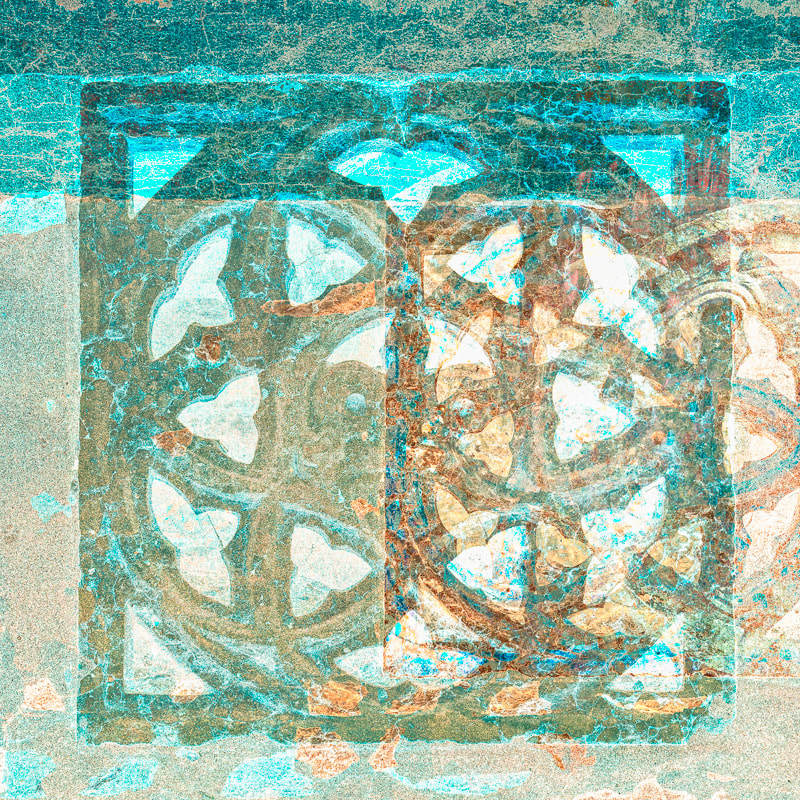 Abstract, multiple exposure photo, Venice